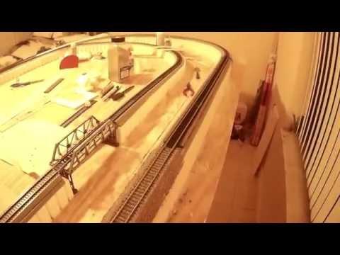 HO scale Model Train Layout-4
