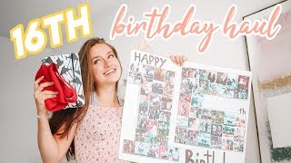 Download 16th Birthday Haul! Video