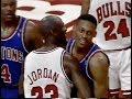Dennis Rodman Defense On Michael Jordan 1991 NBA ECF