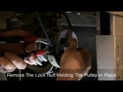 Changing The Pulley On A Clutch Motor To Affect Speed by Sewing Machines Australia (SMA)