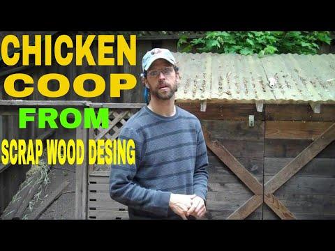 Chicken Coop from Scrap Wood Design.