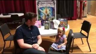 Chris Colfer interviewed by Audrey Nethery - July17, 2017
