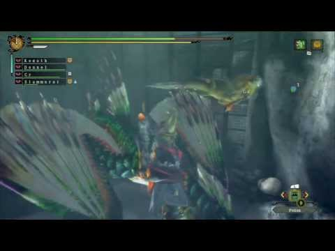 Kogath - Green Plesioth and Royal Ludroth G Rank Online - Monster Hunter 3 Ultimate