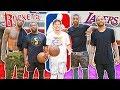 EPIC 1 Vs 1 Basketball Vs NBA Players