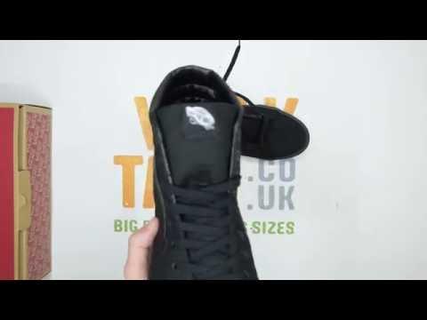 5bc07f9f2a3d Vans SK8-Hi - Black   Black - Walktall
