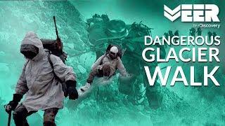Soldiers Walking on Dangerous Glaciers | High Altitude Warfare School E3P4 | Veer by Discovery