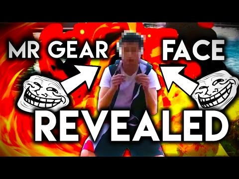 Mr. Gear FACE REVEALED! Found In Public (GOES WRONG)