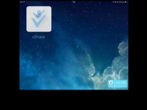 You can install vShare without jailbreaking your idevice, and all apps are free to download.