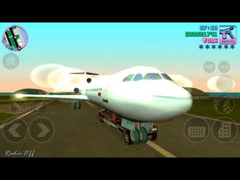 How to see inside big airplanes - GTA Vice City