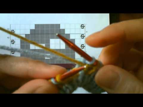 Double Knitting Tutorial: Part 2 - Reading The Chart