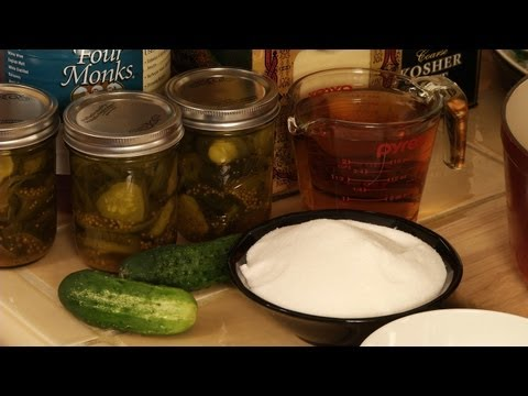 How to Make Bread and Butter Pickles