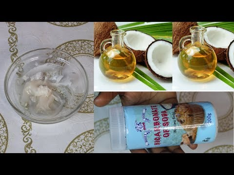 USE COCONUT OIL AND BAKING SODA | LOOK 3-5 YEARS YOUNGER | MINIMIZE LINES+WRINKLES
