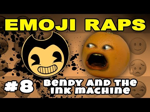Annoying Orange - EMOJI RAPS #8: BENDY AND THE INK MACHINE