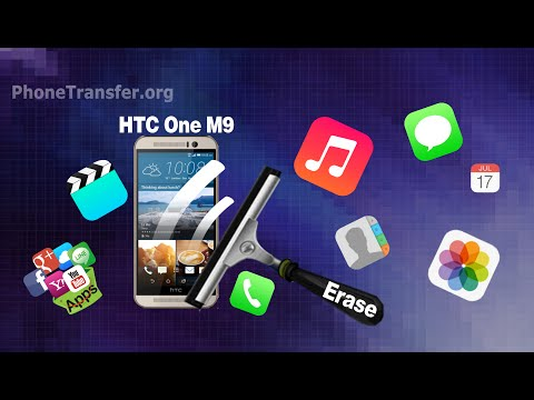 [HTC One M9 Data Eraser]: How to Erase/Delete/Clean All Data from HTC One M9 Permanently