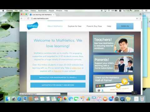 How to login to mathletics