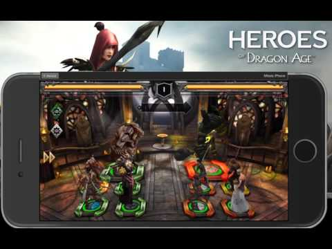 Heroes of Dragon Age Guild and LVL 167