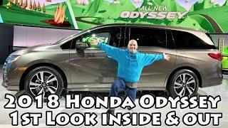 2018 Honda Odyssey 1st Look & It