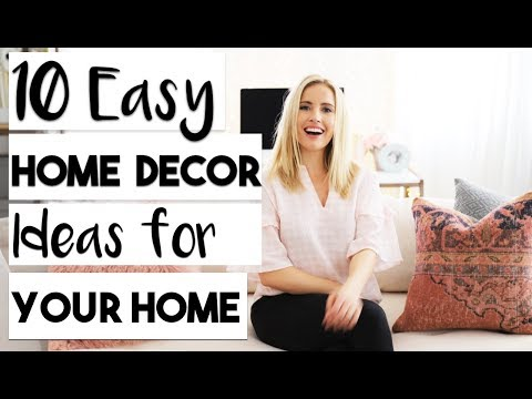 INTERIOR DESIGN | TOP 10 Best Home Decor Items to Decorate your Rented Apartment for Spring!