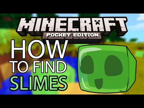 How To Find Slimes in Minecraft PE