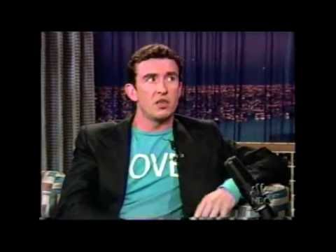 Steve Coogan Interview - 2004 - Around the World in 80 days - Late Show With Conan O'brien