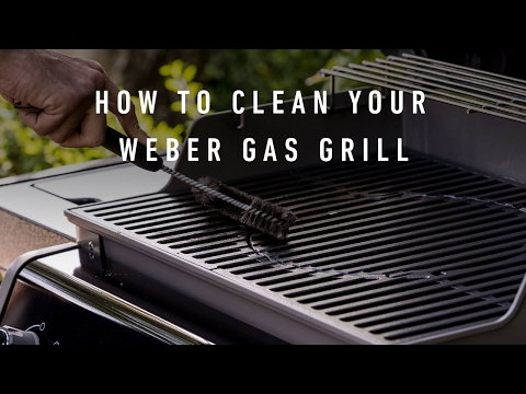 How To Clean Your Weber Spirit® Original E 320 GBS®