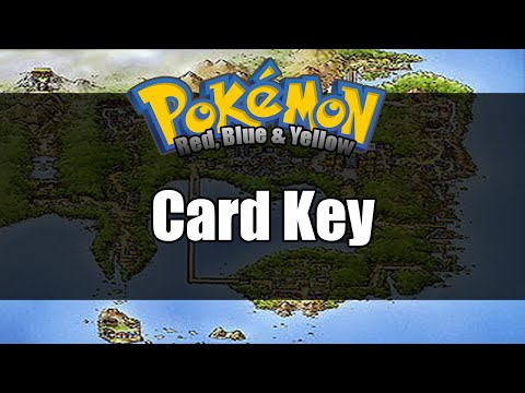 Pokemon Red/Blue/Yellow - Where to get Card Key