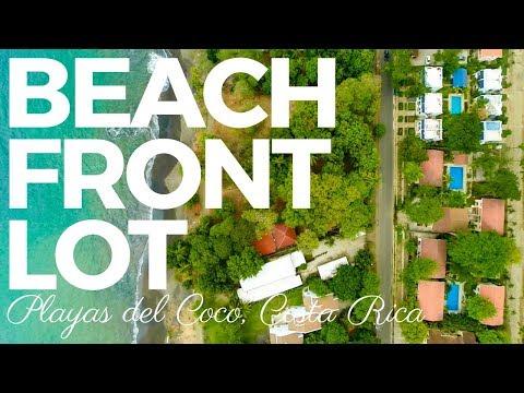 *** FOR SALE *** Coco Beach Front Lot – Playas del Coco, Guanacaste, Costa Rica
