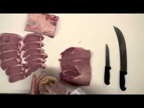 How to Cut a Whole Pork Loin