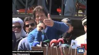 Dunya News | Imran Khan congratulates Karak residents for standing up for rights