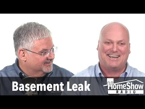 Help me decide between jackhammering or plugging a leak