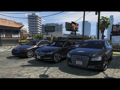 Gta 5 Mercedes Vs Audi Vs Bmw Modlu Yaris Video Download
