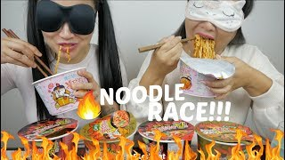 Race Mukbang Cold Ice Fire Noodle Challenge Sas Asmr Today i thought i make a cooking/recipe for you guys since there is a lot of you out there who. playtube