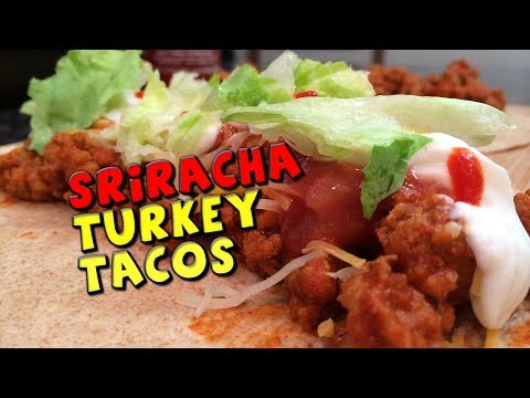 Sriracha TURKEY Tacos Recipe