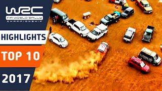 WRC 2017: Top 10 Moments!