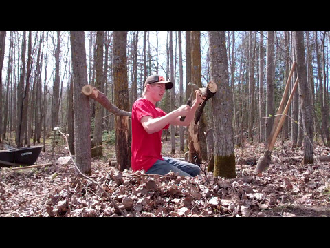 Mountain Bike Trail Building ep 1 Starting the Step Down