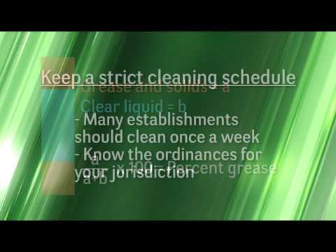 askHRgreen.org Grease Trap Cleaning Tutorial