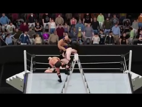 WWE 2K16 (Live on Twitch.TV): Sunset Flip Powerbomb Of DEATH!