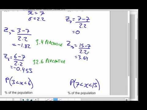 Z Score Application Example 2