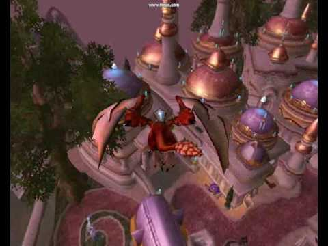 WoW Flying Mount Trick