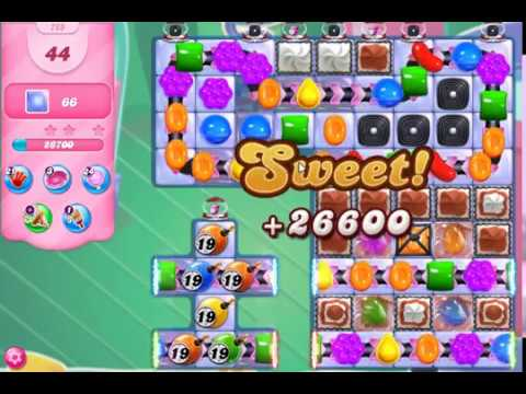 Candy Crush 765 No boosters 3 Stars !