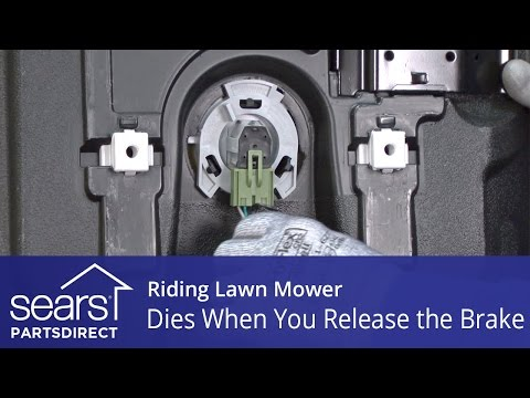 Riding Lawn Mower Dies When You Release the Brake
