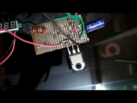 IC 555 Boost Converter Circuit