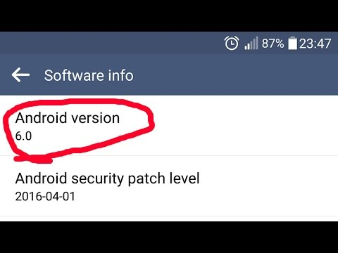 How to find out the version of your Android OS