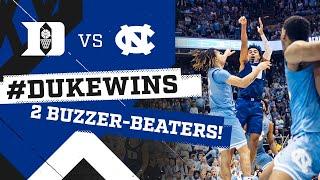 Duke Basketball: Two Buzzer-Beaters in Chapel Hill! (2/8/20)