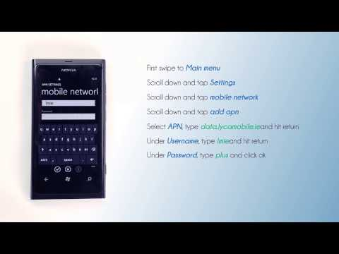 Lycamobile Ireland - Mobile Data Setting for your Nokia