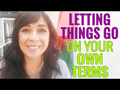 Letting Go (On Your Own Terms)  in Your Custody Case