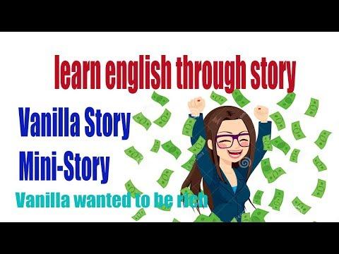 learn english - funny mini story stupid , story vanilla
