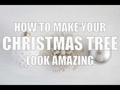 How To Make Your Christmas Tree Look Amazing With This Simple Trick