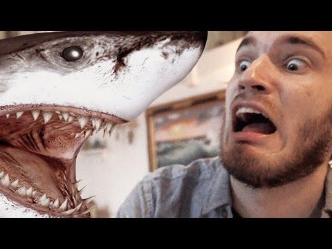 GIANT FLYING SHARK?! (5 Weird Stuff Online - Part 01)