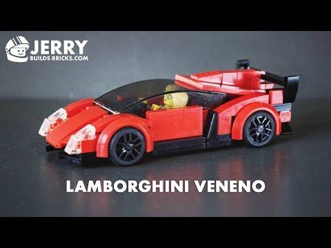 How to build LEGO Lamborghini Veneno (MOC #39)